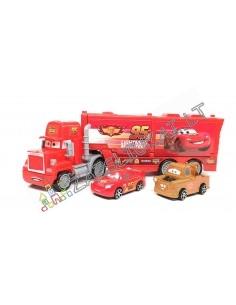 Filmukų personažas – tralas su automobiliukais