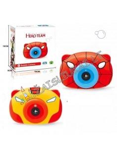 """Muilo burbulų fotoaparatas """"Hero Team"""" su šviesos ir garso efektais"""