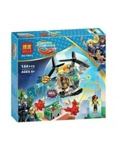 "LEGO analogas ""Super Hero Girls"" Bumblebee sraigtasparnis 144 dalių"