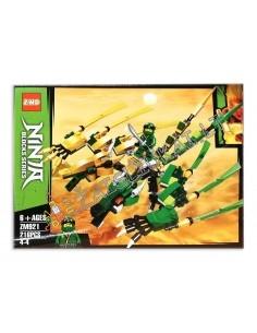 Analogas LEGO Konstruktorius Ninja Drakonas 216 dalių