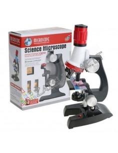Moksliniai žaislai - Vaikų mikroskopas su LED