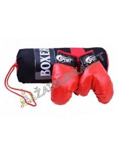 Boksininko rinkinys: bokso pirštinės + krepšys