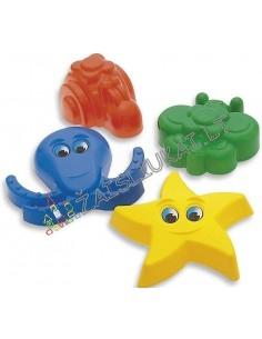 """Smėlio žaislai - Smėlio formos """"Ateivių gamyba"""""""