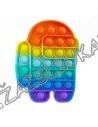 Antistresinis silikoninis žaislas - Pop IT AMONG
