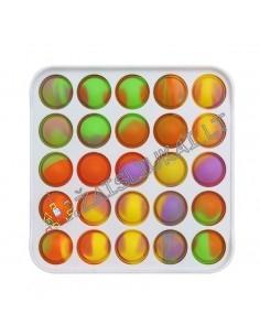 Antistresinis silikoninis žaislas - Pop IT plastikinis kvadratas
