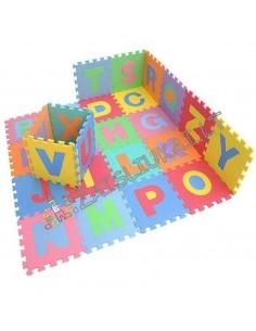 Minkštas kilimas dėlionė 26 dalių Eva Puzzle Mats