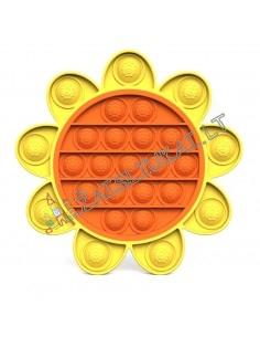 NAUJOVĖ Pop IT saule 9 plius 17 - Antistresinis silikoninis žaislas