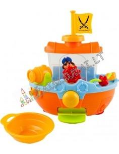 Piratų laivas į vonią