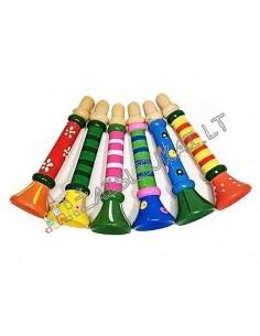 Muzikiniai žaislai - Medine dūdelė-švilpukas