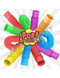 NAUJOVE net 6 skirtingų spalvų Pop Tube 20 cm