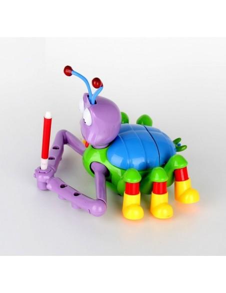 Piešiantis skruzdėliukas dailininkas