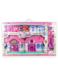 """Plastikinis lėlių namas su baldais """"Dream Hause"""""""