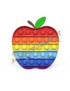 Pop IT vaivorykštinis - Obuolys - Apple