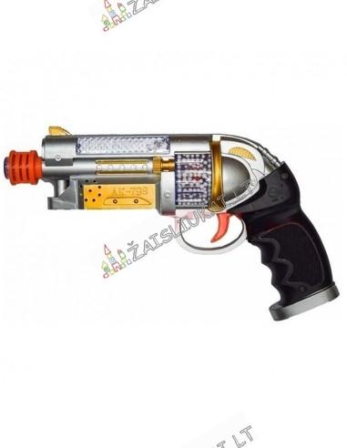 Pistoletas su garsu ir šviesa