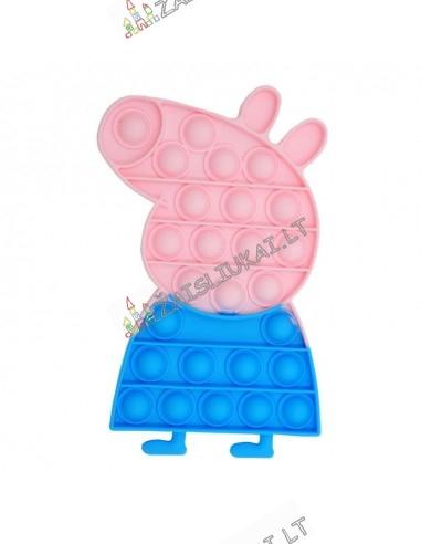Pop it silikoninis žaislas Peppa