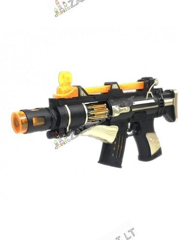 Šautuvas su garsu ir šviesa
