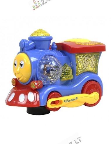 Žaislas traukinys su muzika