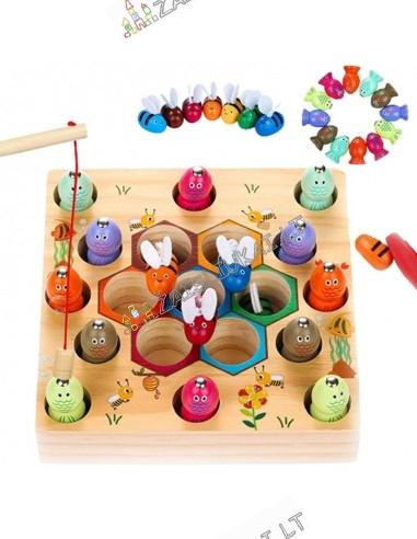 Montessori medinis žaislas