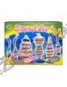 Kūrybinis rinkinys - Buteliukai su spalvotu smėliu