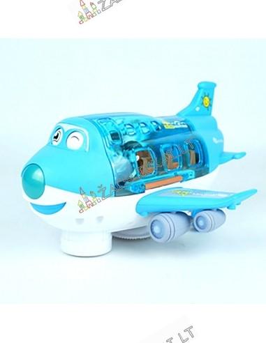 Keleivinis lėktuvas su keleiviais