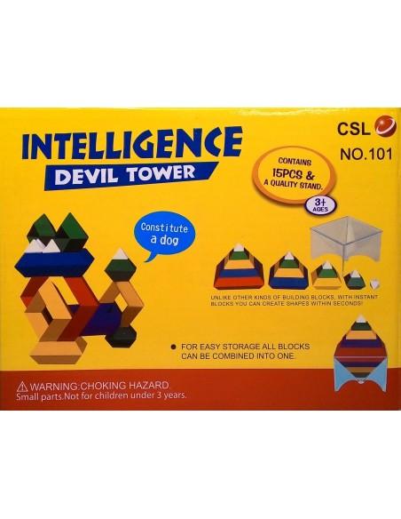 Konstruktorius - dėlionė Devil Tower