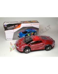 Žaislinė mašina su garsu ir šviesa