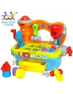 Darbo įrankiai mažyliams - Staliukas su instrumentais