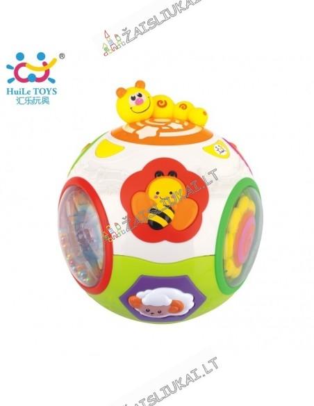 Muzikinis kamuolys mažyliams nuo 6 mėnesių