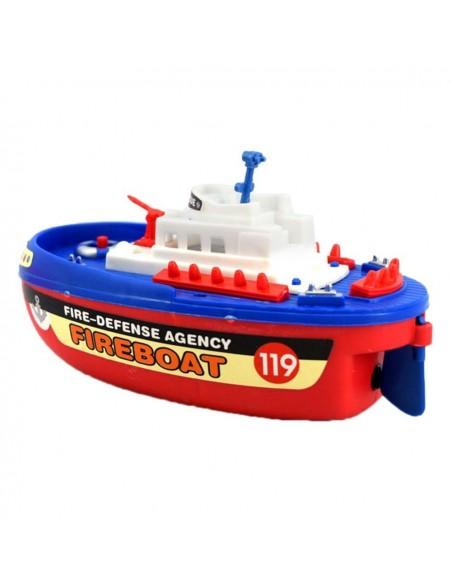 Laivas su fontanu