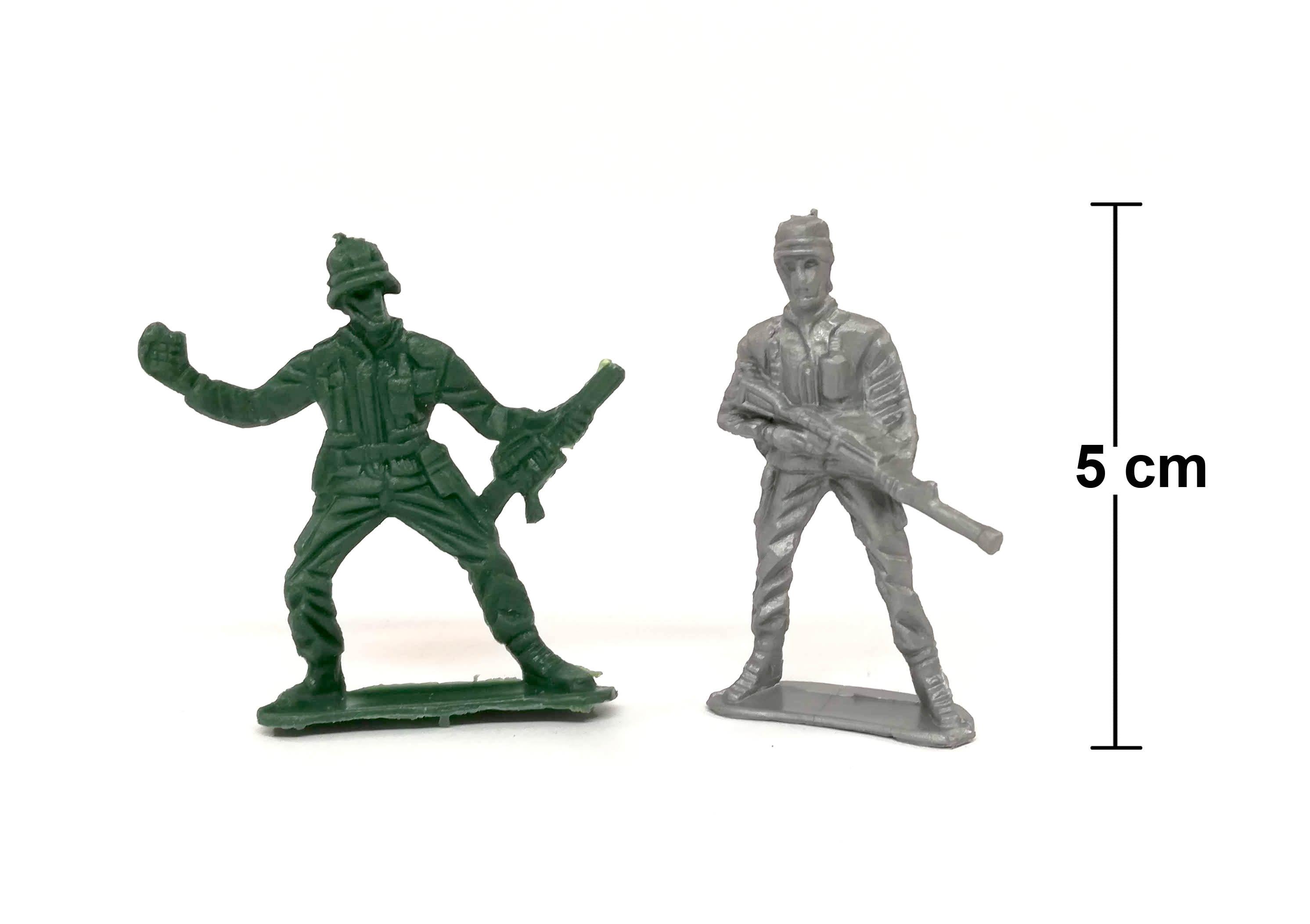 Plastikiniai kareivėliai žaidimams į karą