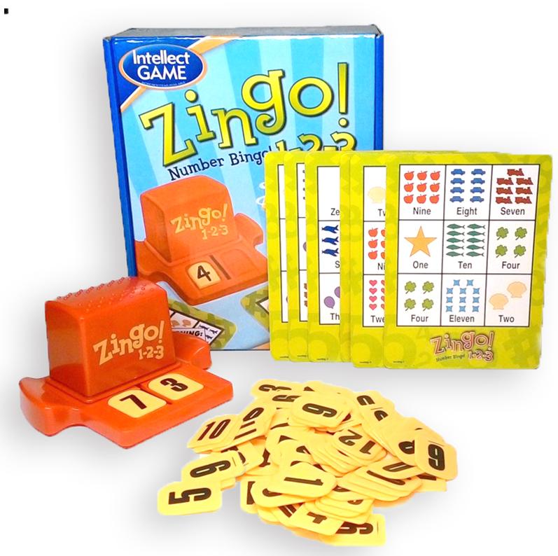 Stalo žaidimas - ZINGO skaičiai - Loto serijos žaidimas